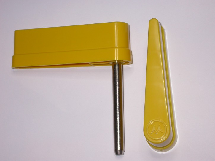 Flipperfinger starkes W Logo Gelb