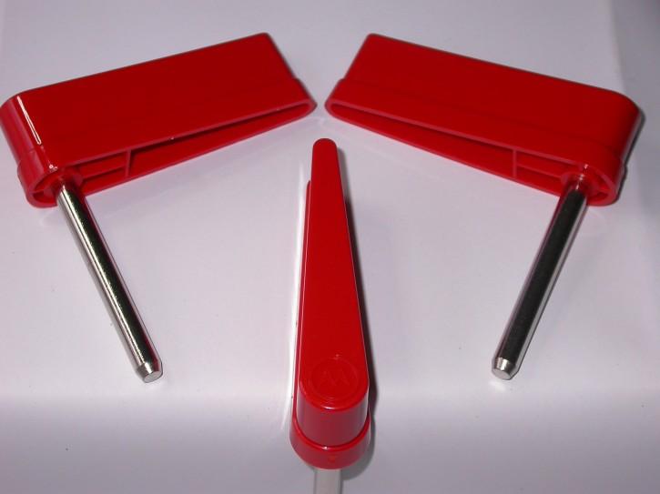 20-10110 Flipperfinger Starkes Logo verschiedene Farben Rot