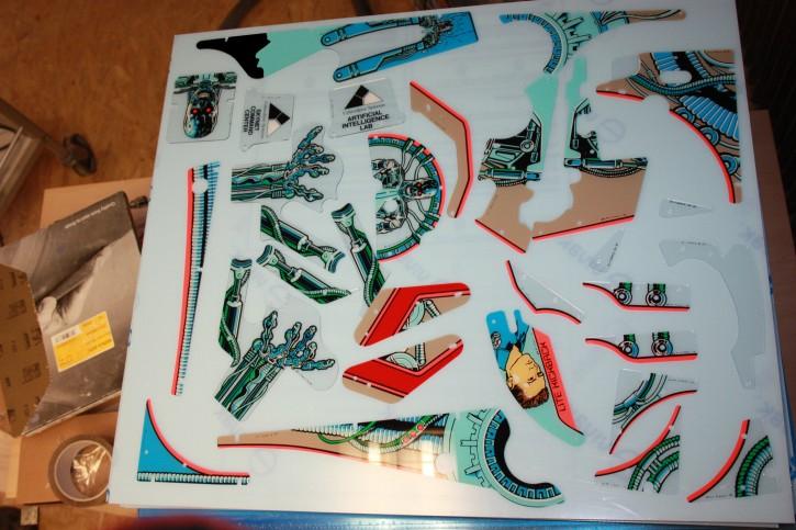 31-1-50013 T2 Spielflächen Plastik Satz